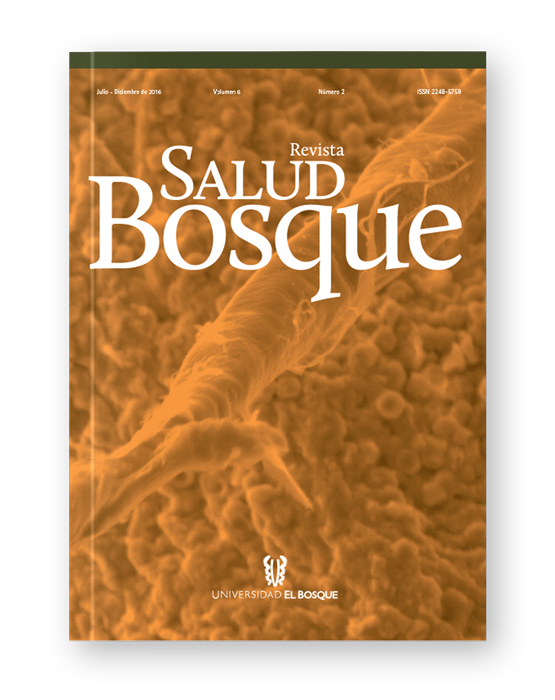Revista Salud Bosque - Volumen 6 - Número 2