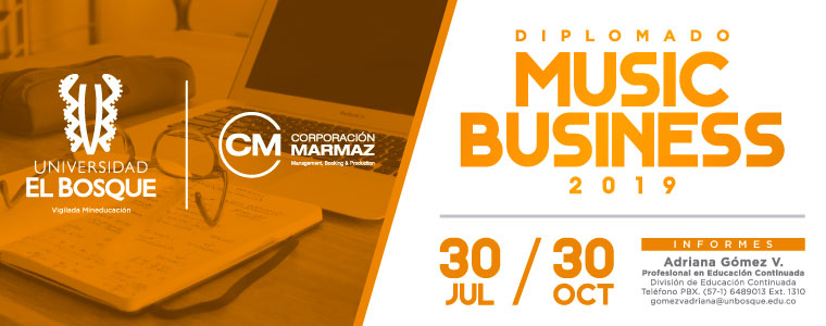 DIPLOMADO MUSIC BUSINESS